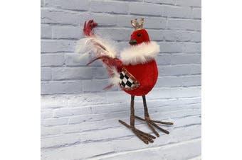 Red Bird 19cm - Standing