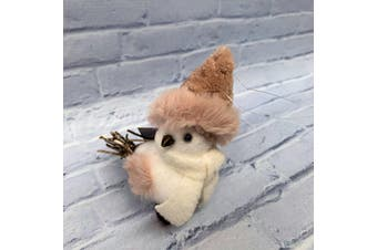 Small Bird Decoration with Hat