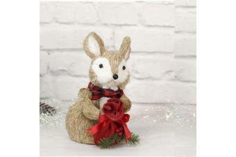 Sisal Squirrel 25cm - Gift Bag