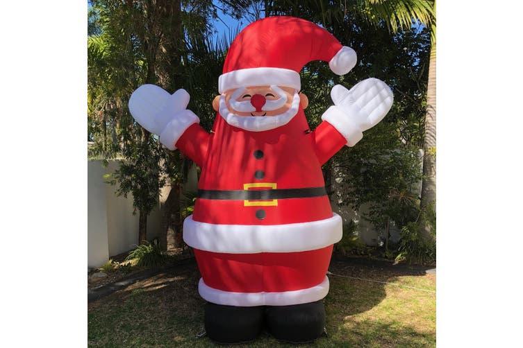 Inflatable Santa Claus 3m Kogan Com
