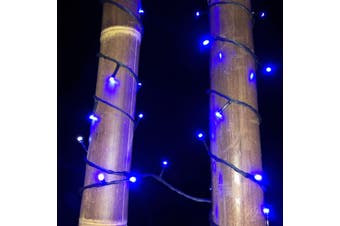 Fairy Lights BLUE 10m Extendable