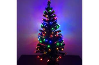 Christmas Tree LED Fibre Optic Lights 1.2m