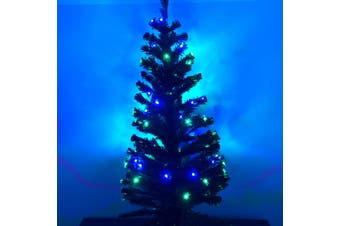Christmas Tree LED Fibre Optic Lights 1.5m