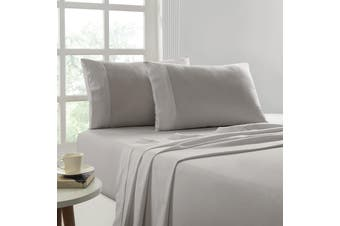 Park Avenue 175 GSM Egyptian Cotton Flannelette Sheet Sets Single Graphite