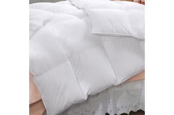 Renee Taylor 600 GSM Deluxe Quilt With Cotton Cover Premium Microfiber Filling Super King