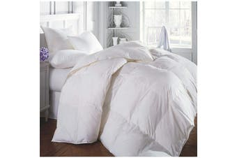 Renee Taylor 400 GSM Duck Feather And Down Quilt 70:30 With Cotton Cover Queen