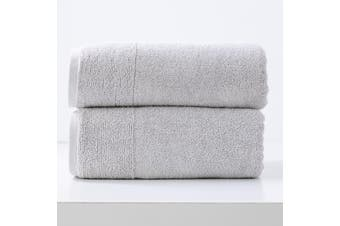 Renee Taylor Aireys 650 GSM Zero Twist 2 Pack Bath Sheet Vapour