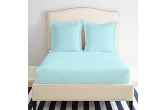 Park Avenue 1200 Thread count Cotton Blend Fitted Sheet Queen Mint