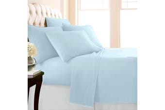 Park Avenue 1500 TC Premium Cotton blend sheet set Queen Seafoam