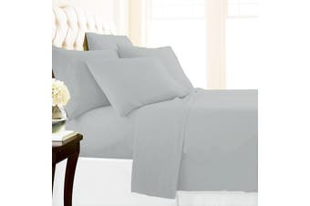 Park Avenue 1500 TC Premium Cotton blend sheet set Queen Silver