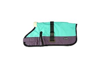 Waterproof Dog Coat 3009-B - Teal/ Purple (for Big Dogs)