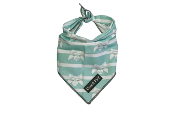 Coco & Pud Audrey Cotton Cat Bandana