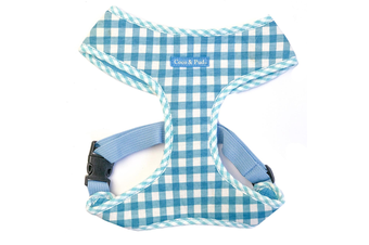 Gingham Harness - Blue Check