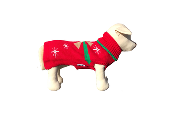 Coco & Pud Christmas Present Dog Sweater