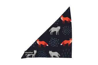 Coco & Pud Fox & Friends Dog Bandana
