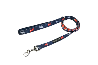 Coco & Pud Fox & Friends Reversible Dog lead/ Leash