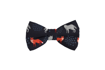 Coco & Pud Fox & Friends Dog Bow tie