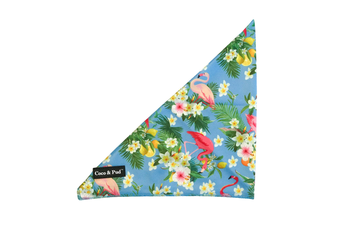 Coco & Pud Flamingo Tropical Dog Bandana