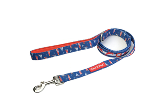 Coco & Pud Hamptons Reversible Dog lead/ Leash