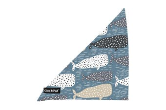 Coco & Pud Whale of a Time Dog Bandana