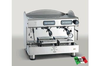 BZC2013S2EAF Bezzera Compact Espresso Coffee Machine 2 Group + Auto-foamer