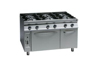 Fagor 900 series natural gas 6 burner CG9-61H