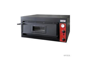Comchef EP-1-1-SD Germany's Black Panther Pizza Deck Oven