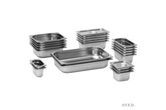 GN13065 1/3 x 65 mm Gastronorm Pan Australian Style