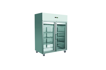 GN1410TNG GRAND ULTRA Double Glass Door Upright Fridge 1400L