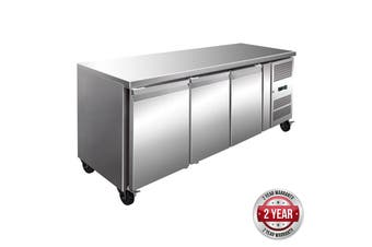 GN3100TN TROPICALISED 3 Door Gastronorm Bench Fridge