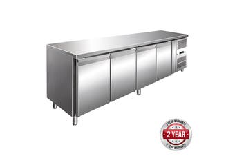 GN4100TN TROPICALISED 4 Door Gastronorm Bench Fridge