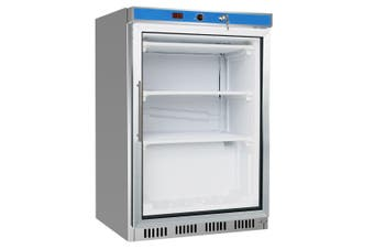 HR200G S/S Display Bar Fridge with Glass Door