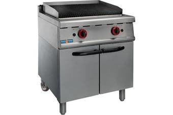 JZH-RH Natural Gas Char Grill on Cabinet