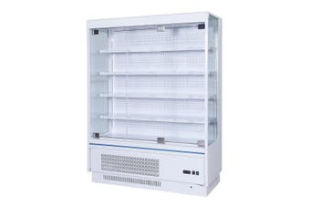 OD-1580P Multi-deck Open Chiller with Tempered Glass Door