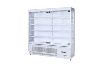 OD-2080P Multi-Deck Open Chiller with Tempered Glass Door