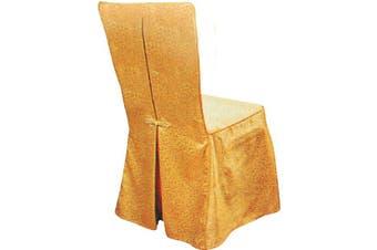 S-633 Banquet Chair Cover - Silk Gold