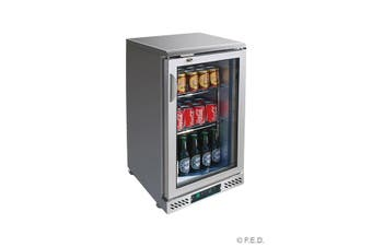 SC148SG single door Stainless Steel Bar Cooler