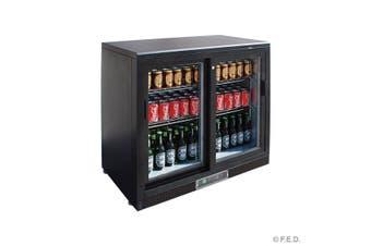 SC248SD Double Sliding Door Drink Cooler