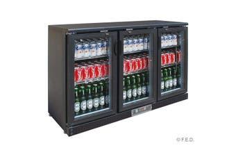 SC316G Three Door Drink Cooler