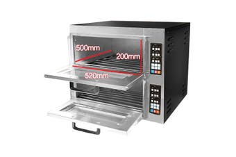 Digital Electric Pizza Oven Double Deck  - TEP-2AKW
