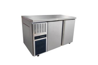 Stainless Steel Double Door Workbench Fridge - TL1200TN