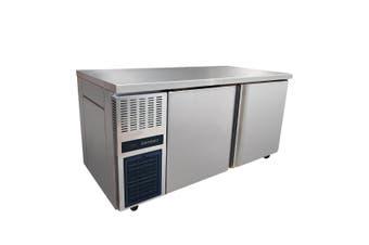 Stainless Steel Double Door Workbench Freezer - TL1500BT