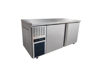 Stainless Steel Double Door Workbench Fridge - TL1500TN