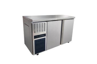 Stainless Steel Double Door Workbench Fridge - TS1200TN