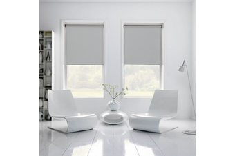 100% BLOCKOUT Roller Blind 120cm(W)x210cm(D) Grey