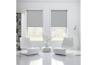 100% BLOCKOUT Roller Blind 180cm(W)x210cm(D) Grey