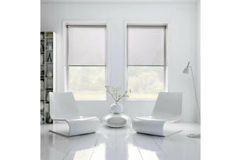 100% BLOCKOUT Roller Blinds 90cm(W)x210cm(D) White