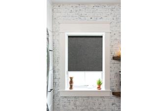 SUNSCREEN Roller Blinds 180cm(W)x210cm(D) Black