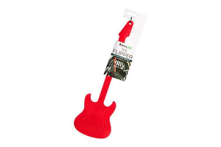 Flipper Guitar Spatula - Red