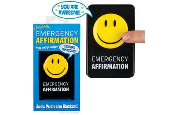 Archie McPhee - Emergency Affirmation Button